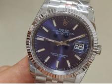 Replica Rolex DateJust 36mm 126234 GMF 1:1 Best 904L Blue Dial on Jubilee Bracelet A2824