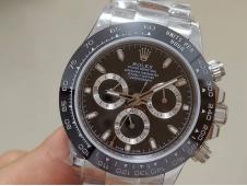 Replica Rolex Daytona 116500 Black Dial A7750 Noob Fake