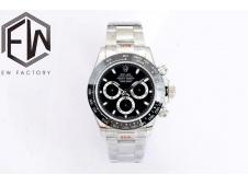 Replica Rolex Daytona 116500 Black Dial EWF A7750
